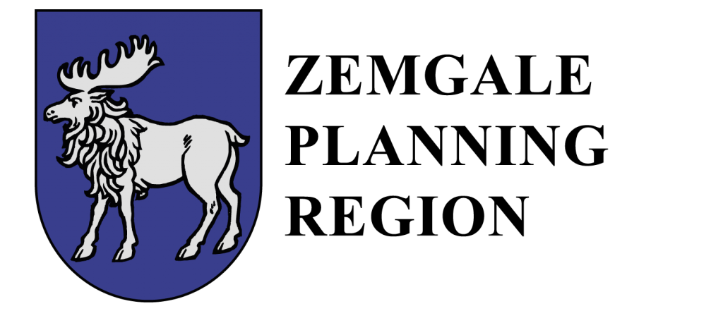 Zemgale planning region logo